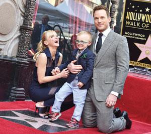 Anna, Chris Pratt and son Jack