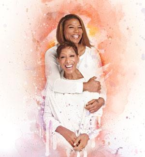 Queen Latifah and her mom