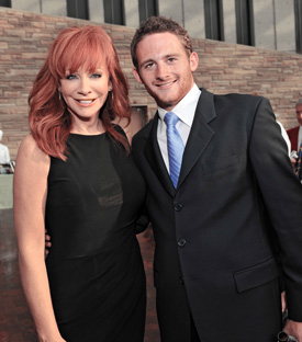 Reba and son Shelby