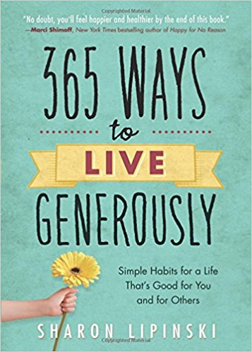 365 Ways to be generous - book