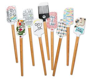 Designed spatulas
