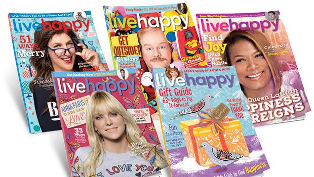 Live Happy Magazines