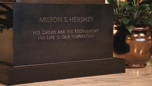 Milton S. Hershey statue image
