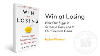Book cover: Win at losing