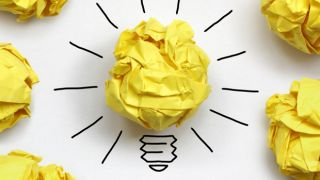 Lightbulb, creativity conceptual photo