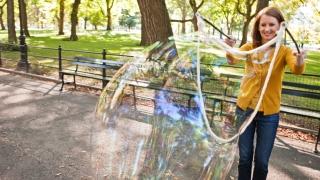 Gretchen Rubin in Central Park