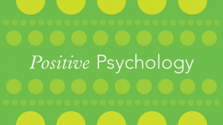 Image of words Positive Psychology