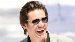 Jim Carrey wearing sunglasses