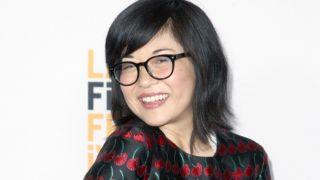 Keiko Agena posing at an awards show