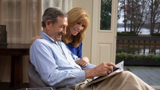 Leeza Gibbons with her father