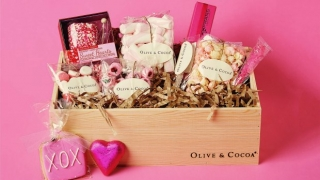 Olive and Cocoa Valentines Gift Basket