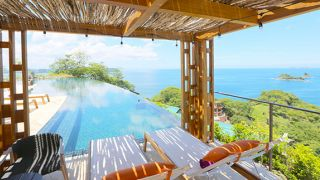 Casa Chameleon at Las Catalinas, Costa Rica, Kind Traveler, relaxing ocean view