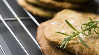 Shortbread Cookies with Rosemary