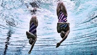 Anita Alvarez and Mariya Koroleva at the Rio Olympics