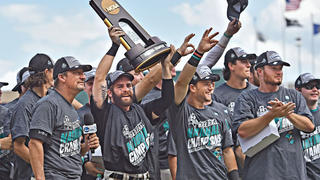A winning college baseball team.