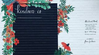 Kindness mural in Chicago