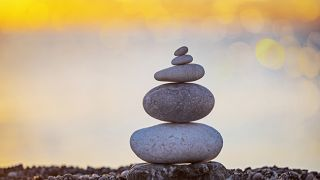 stacked rocks, mindfulness