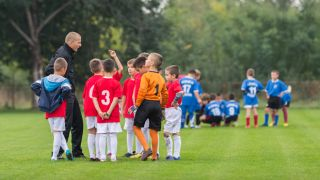 Youth Soccer Team, Positive Coaching