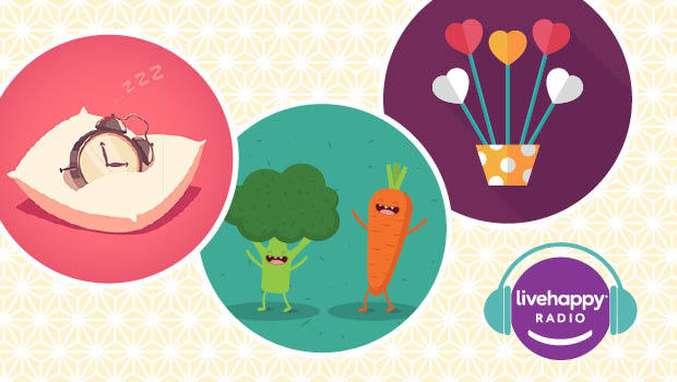 Happy Facts: Eat your veggies, catch some zzz's
