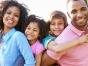 Happy, healthy family