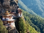 A hillside in Bhutan