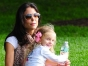 Bethenny Frankel with her daughter