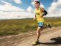 Dean Karnazes running an ultramarathon.
