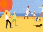 Family-on-the-beach