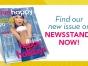 Live Happy magazine cover with Kristin Chenoweth