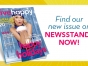 Live Happy magazine cover with Kristin Chenoweth
