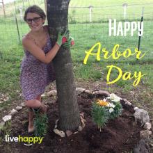 Happy Arbor Day! Hug a tree!
