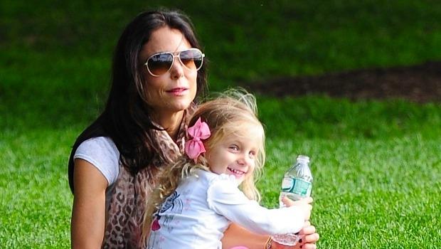 Bethenny Frankel with her daughter
