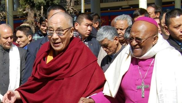 Desmond Tutu and Dalai Lama Write Happiness Book | Live
