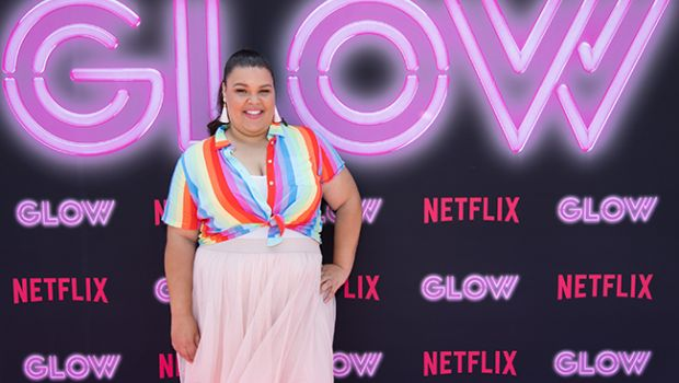 GLOW star Britney Young; Netflix