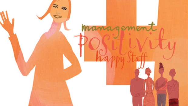 Happy Staff Illustration