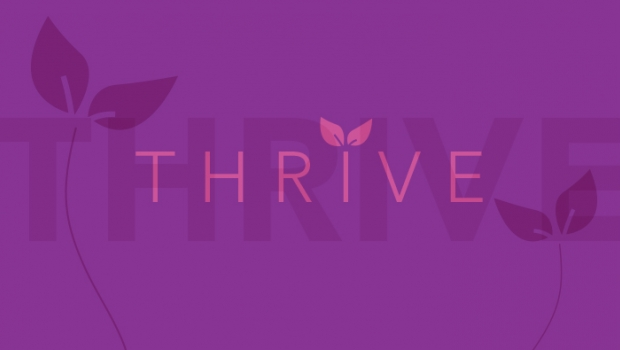 Image of the word thrive