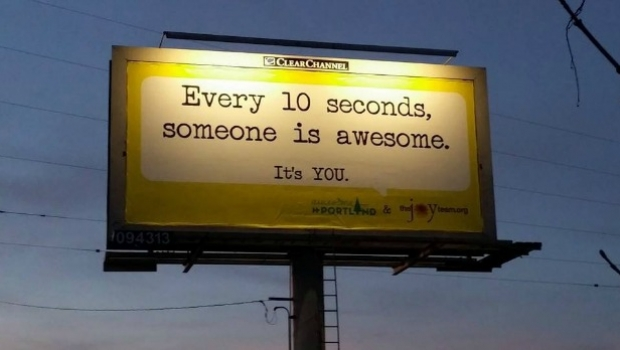 Joy Team billboard