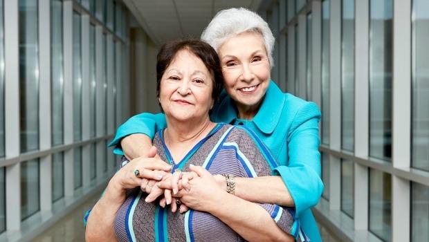 KIND Foundation Winner Sandra Goldberg (right)