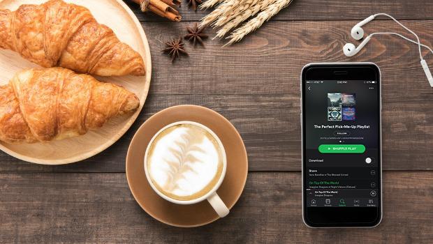 Playlist with breakfast