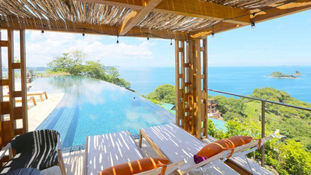 Casa Chameleon at Las Catalinas, Costa Rica, Kind Traveler, relaxing ocean view