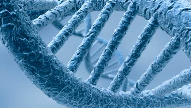 Close-up image of DNA