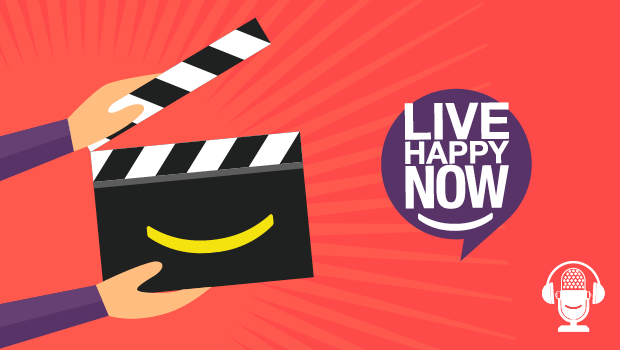 Live Happy Clapperboard