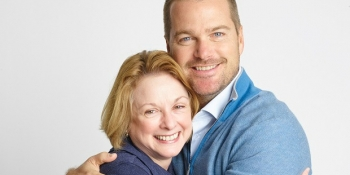 Karol Nickell and Chris O'Donnell hugging