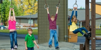Kids playing at recess