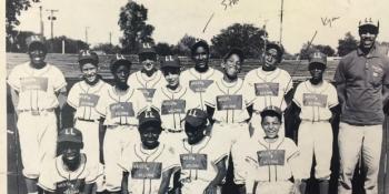 Kym Yancey's childhood baseball team