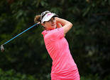 Golfer Brittany Lang