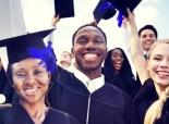 Three high school grads