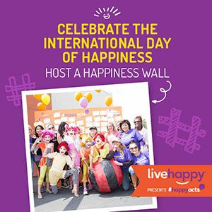 Celebrate the International Day of Happiness by Hosting a Happiness Wall!