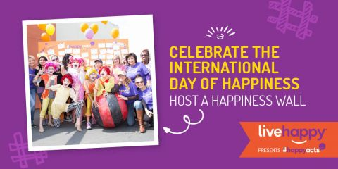 Celebrate the International Day of Happiness. Host a Happiness Wall!