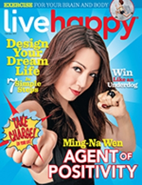 Live Happy February 2017 issue